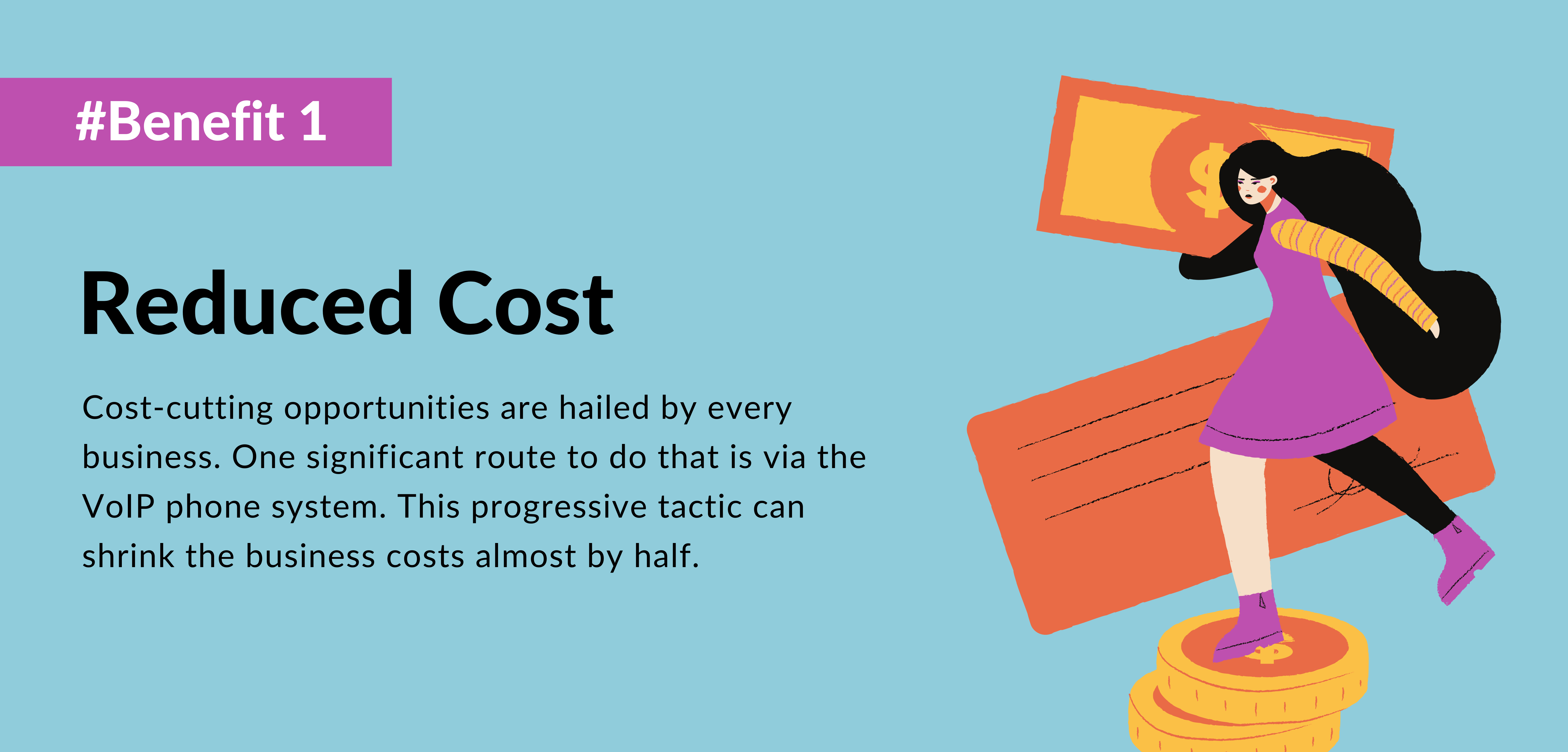 first benefit of using voip reduced costs - telecloud