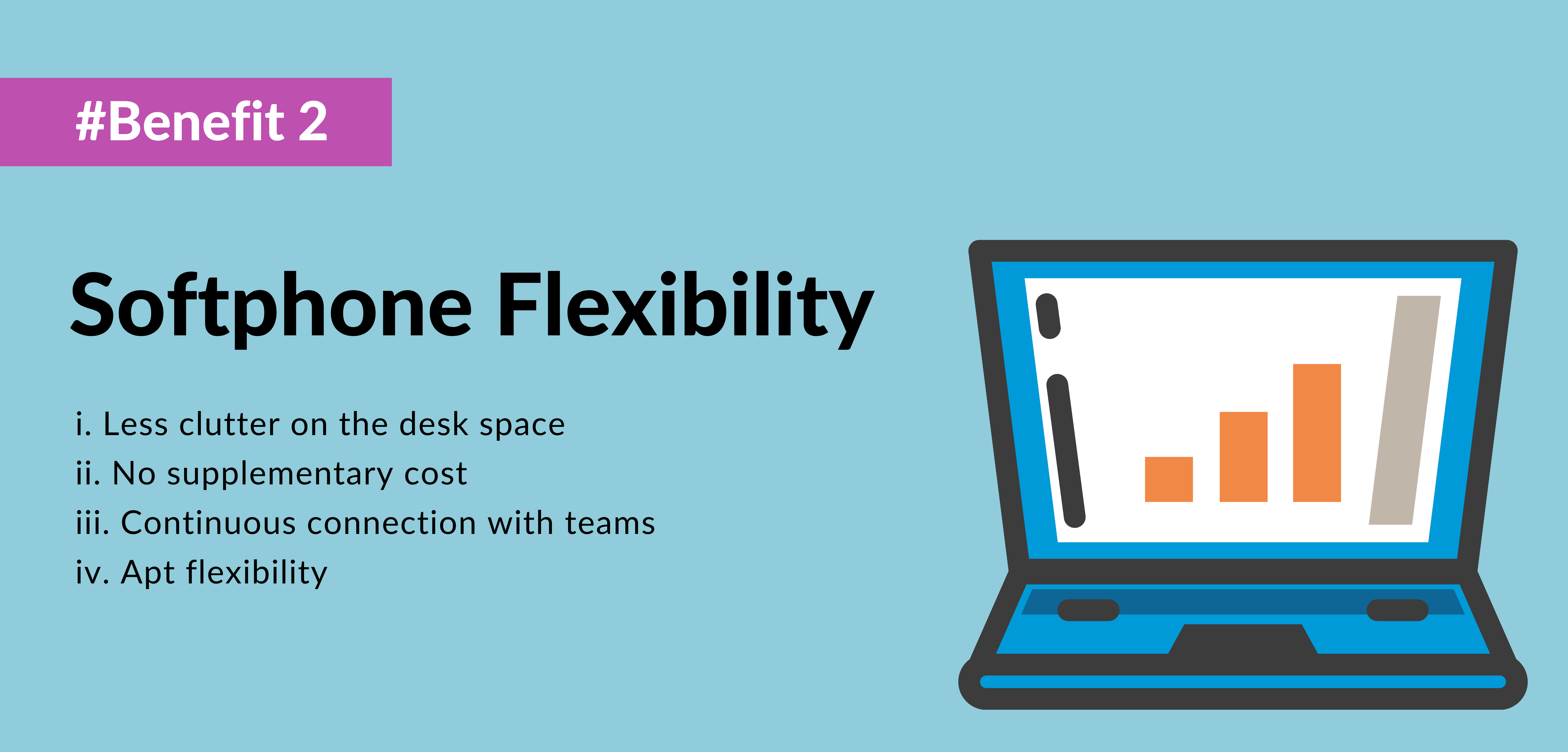 second benefit of using voip is softphone flexibility - telecloud
